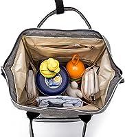 05b3902a455f1 BISON DENIM Verbesserte Version Wickeltasche Große Fähigkeit Wasserdicht  Wickeltaschen Diaper Bag Mode Rucksäcke Baby Backpack (. Bilder werden  geladen.