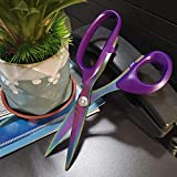 KUONIIY Premium Tailor Scissors,Multi-Purpose Heavy