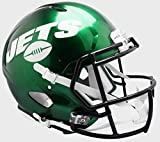 Riddell NFL New York Jets NFL Speed Replica Football Helmet, Green, Large