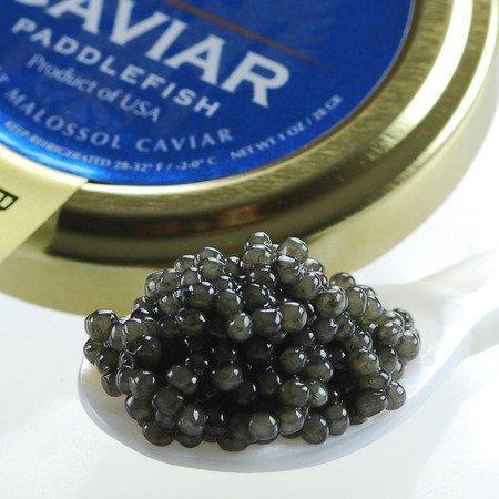 Paddlefish Caviar, Spoonbill - 0.5 Oz by Marky's Caviar