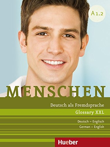 Menschen Sechsbandige Ausgabe: Glossar Xxl Englisch A1.2 (German Edition)