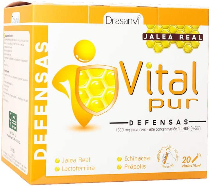 Jalea Real Vitalpur Defensas 20 Viales Drasanvi