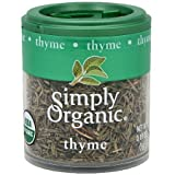 Simply Organic Thyme 0.28 oz (Pack of 6)