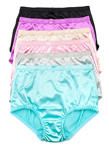 Barbras Coverage Womens Brief Panties