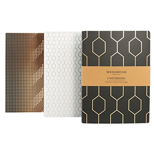 Collection Wedgwood - Wedgwood Collection Set of 3 Slim Notebooks