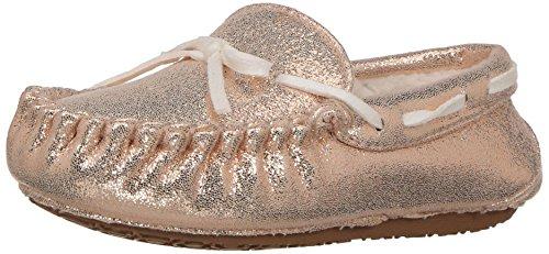 Stride Rite Girls' Moccasin Slipper, Grace-Glitter/Gold, 9-10 Toddler for $<!--$16.77-->