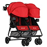 ZOE XL2 BEST v2 Lightweight Double Travel & Everyday Umbrella Twin Stroller System (Red) Review