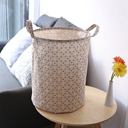 Collapsible Large Waterproof Fabric Laundry Hampers For