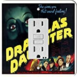 Rikki Knight 3708 Vintage Movie Posters Art Dracula's Daughter 5 Design Light Switch Plate