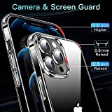 CASEKOO Crystal Clear Designed for iPhone 12 Pro