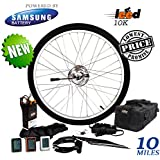 Electric Bike Conversion Kit / Li-ion 5.2 Ah Included 24V 250W Front Wheel
