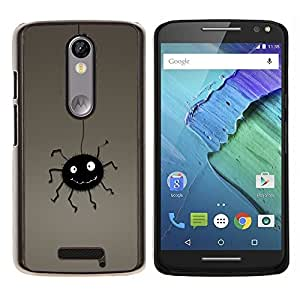 "Be-Star Único Patrón Plástico Duro Fundas Cover Cubre Hard Case Cover Para Motorola Droid Turbo 2 / Moto X Force ( Bug divertido"" )"