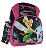 Disney Fairies Tinkerbell Large Backpack With Pencil Case, Bags Central