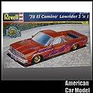 78 Chevy El Camino LowRider 3in1 1978 シボレー エルカミーノ ローライダー Revell 85-2979 1:25スケール Chevrolet シェビー プラモデ