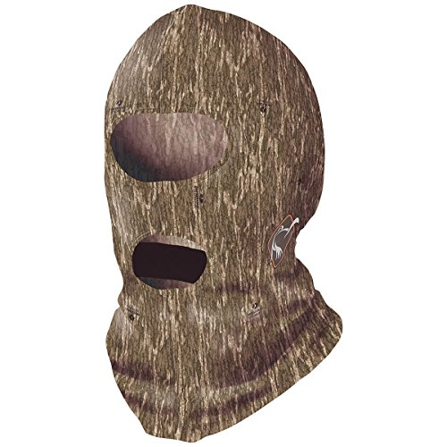 - Ol' Tom Performance Full Face Mask - Mossy Oak Bottomland Camo