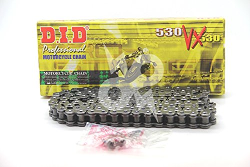 (DID 530VX-102 X-Ring Chain with Connecting Link)