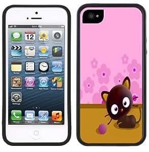 Chococat Cute Kitten Cat Handmade iPhone 5C Black Case