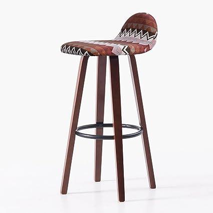 Delicieux WENBO HOME  Continental Simple, Wooden, Geometric Shape Cushion Bar  Creative High Chair European