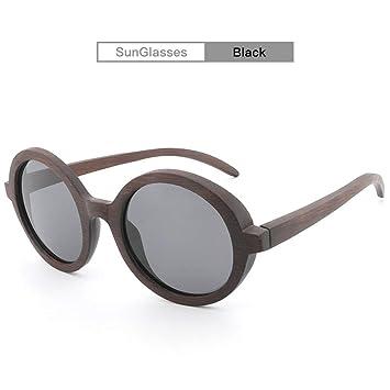 ShanDiJiaJu Gafas de Sol polarizadas Hecho a Mano Bamboo ...