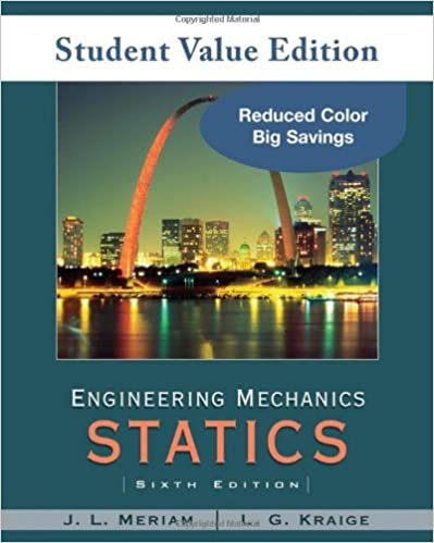 Amazon engineering mechanics statics student value edition engineering mechanics statics student value edition 6th edition fandeluxe Choice Image