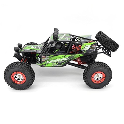 Zerospace Keliwow 1/12 Electric Car 40 MPH Brushless Motor Off Road Car, Fast RC Car 4WD RC Truck 2.4G RTR Eagle3 (Green)