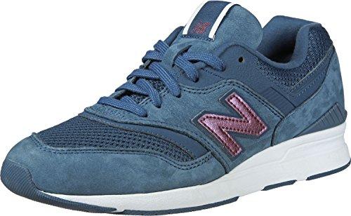 Donna New Wl697v1 Balance Sneaker Blu gnqz8nx