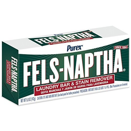 (Dial 723154 Fels Naptha Laundry Bar Soap, 5.0oz Size (Pack of 24))