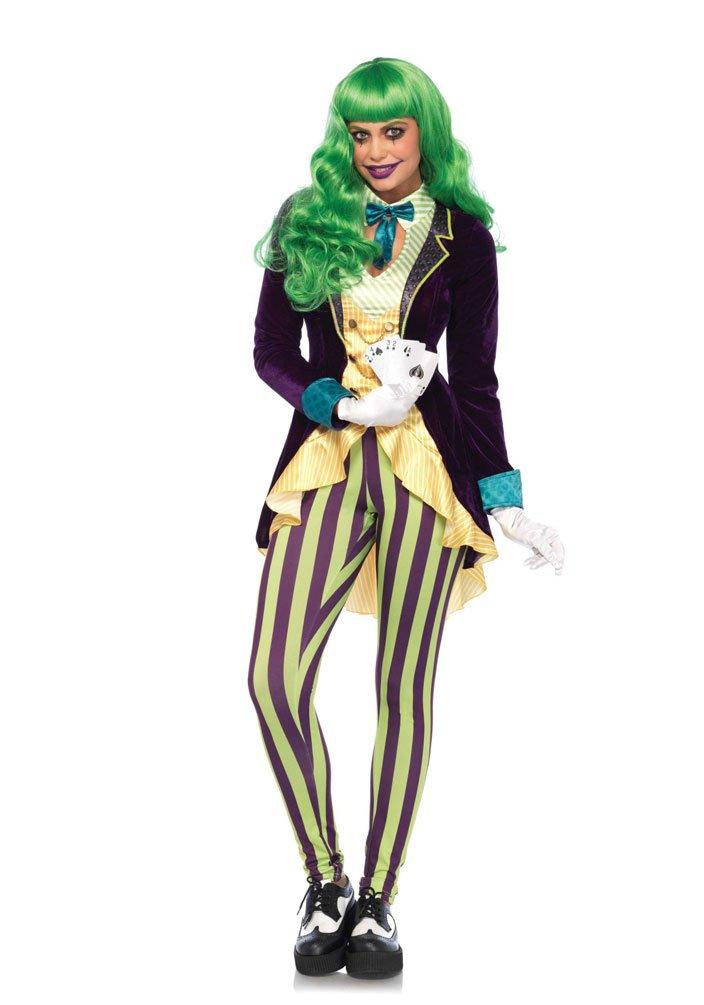 Karneval Klamotten Kartenspieler In Kostum Joker Kostum Damen Luxus