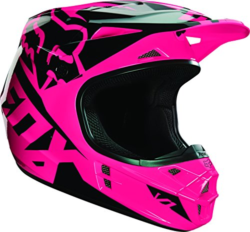 2016 Fox Racing V1 Race Helmet-Pink-XS (Fox Womens Helmet Mx)