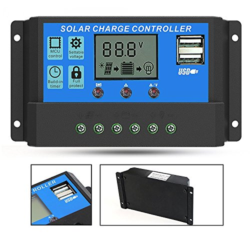 Solar Charge Controller (20A) - 9