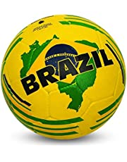 Nivia Country Colour Rubber Football (Size: 5, Color : Multicolour, Ideal for : Training/Match)