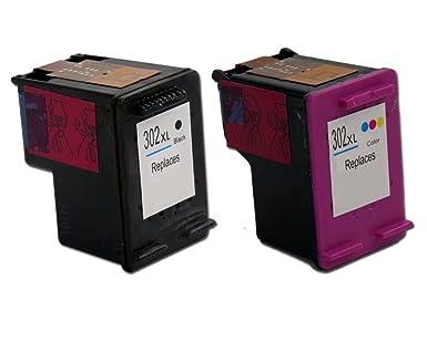Tian - COMPATIBLES hp302 X L Negro Color 302 x l Cartuchos de ...