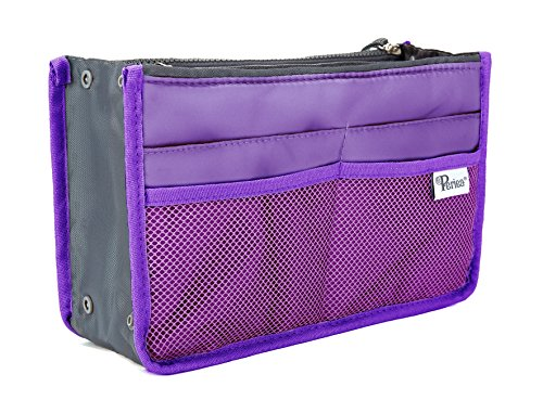 Periea Handbag Organizer - Chelsy (Medium, Purple) from Periea