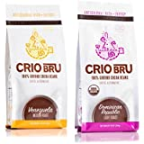 Crio Bru Venezuela + Dominican Double Pack Herbal Tea Coffee Alternative Substitute 99% Caffeine Free Whole-30 Gluten Free Honest Low Calorie Energy Boost 10 oz - 2 pack