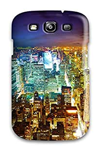 Galaxy S3 Case, Premium Protective Case With Awesome Look - Paris The Illuminated City