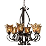 Uttermost 21006 Vetraio 6-Light Chandelier, Oil Rubbed Bronze Finish Review