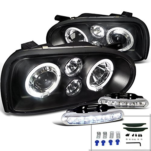 Black Projector Headlights Driving Lamps