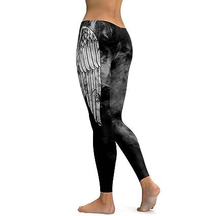 Noir Yoga Leggings Femme addd6c38943