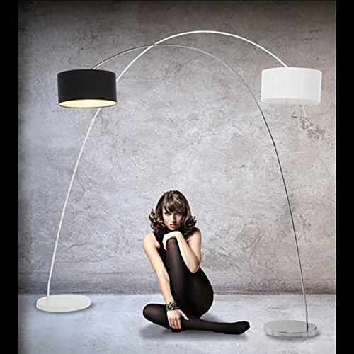 DESIGN LAMPADA AD ARCO | nero, metallo, 200 x 160 cm | incl ...