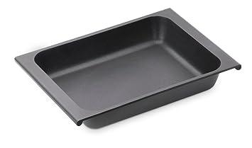 BRA Efficient - Bandeja de horno sin tapa, cristal, 41 x 29 cm