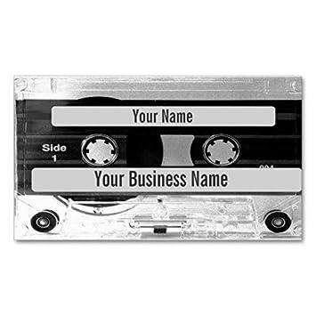 Carte De Visite Audio Denregistreur A Cassettes D