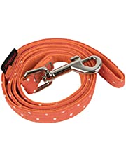 Puppia PARA-AL1529-OR-M Orange Dotty Lead II Pet-Leashes, Medium