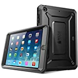 iPad Mini 4 Case, SUPCASE [Heavy Duty] Apple iPad Mini 4 Case 2015 [Unicorn Beetle PRO Series] Full-body Rugged Hybrid Protective Case Cover with Built-in Screen Protector, Bumper (Black/Black)