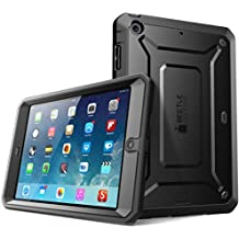 SUPCASE iPad Mini 4 Case Heavy Duty Unicorn Beetle Pro Series Protective with Built-In Screen Protector, Black (SUP-iPadMini4-UBPro-Black/Black)