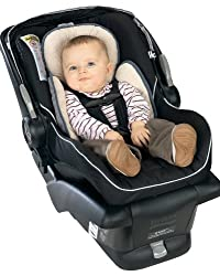 BRITAX Head and Body Support Pillow for Car Seats and Strollers, Iron/Grey by BRITAX
