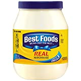 """Best Foods Real Mayonnaise is proudly made with real, simple ingredients like cage-free eggs (at least 50% in every pack), oil and vinegar. We know that to really """"Bring Out The Best,"""" we need to do more than just taste great. That's why our deliciou..."""
