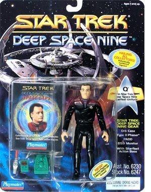 Star Trek Deep Space Nine Q in DS9 Uniform -