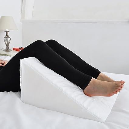Cuña de espuma para cama de lujo con suave acolchado multiusos para alivio del dolor, cojín para la espalda, cuello y pierna, ayuda para fibromialgia, ...