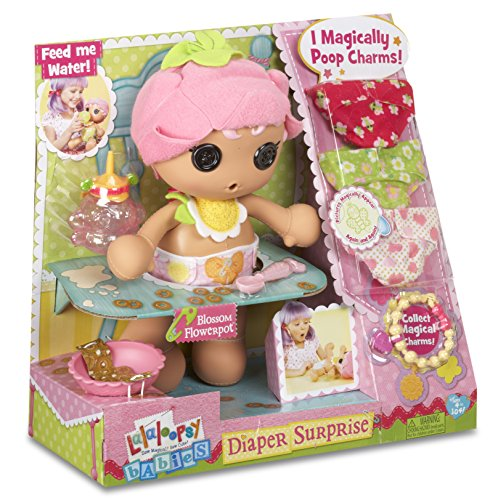 Lalaloopsy Babies Diaper Surprise Blossom Flowerpot Doll]()