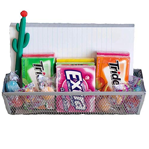 (Office Desk Decor Gift Set Includes Assortment of Gum, Notepad, Cactus Pen, and Organizer Tray)
